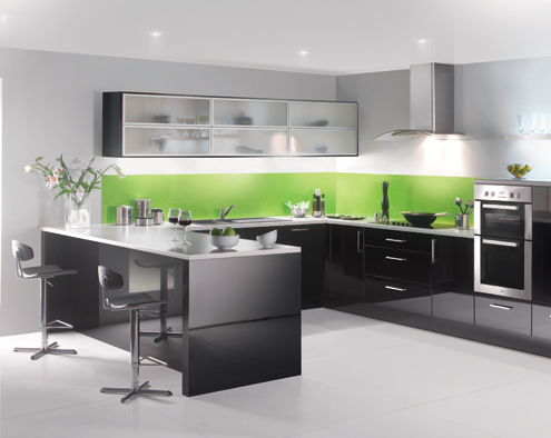 Beautiful Modern And High Gloss Kitchens Abbeywood Services