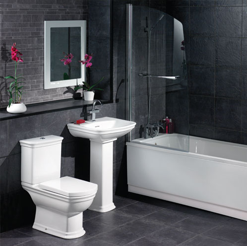 Looking for modern bathrooms in peterborough abbeywood for Small dark bathroom ideas
