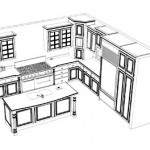 Unique Kitchen Plan